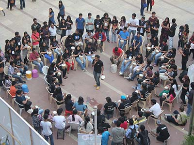 Taal Inc College Drum Circle